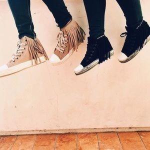 LF fringe sneakers